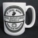 Brandon Black Mug