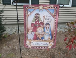 Garden Flag - Christmas Reason For The Season LOW RES_LRG
