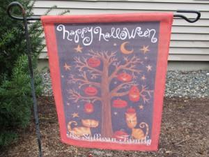 Garden Flag - Halloween Pumpkin Tree LOW RES_LRG