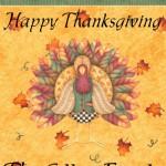 Garden Flag - Thanksgiving Turkey_LRG